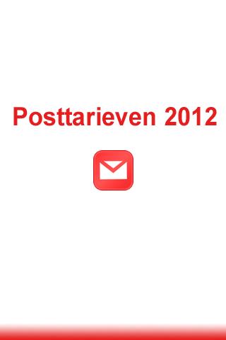 Posttarieven België