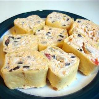 Tortilla Rollups Cream Cheese Sour Cream Recipes