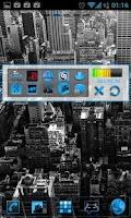 Screenshot of GOWidget Blue ICS Light Free