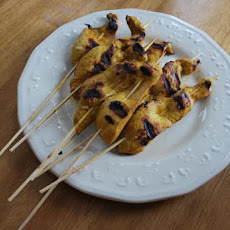 Grilled Low Carb Chicken Satay