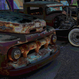 Old Rods by Benito Flores Jr - Digital Art Things
