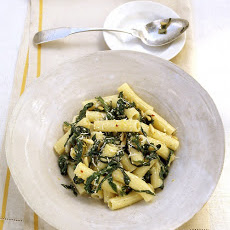 Rigatoni with Swiss Chard