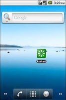 Screenshot of Reboot Widget XP