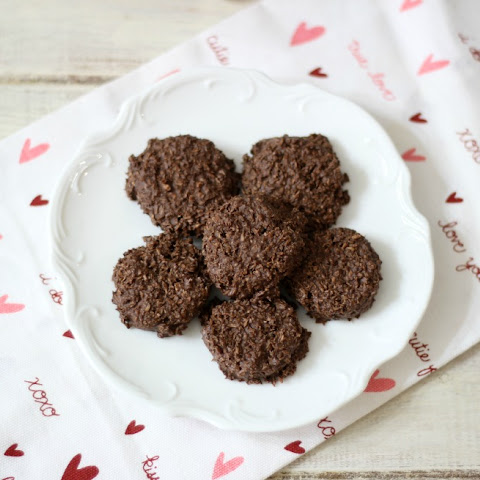 Chocolate Coconut Haystacks