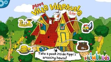 Screenshot of Pippi's Villa Villekulla Lite