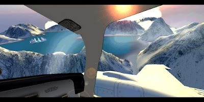 Screenshot of Flight VR DEMO