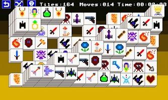 Screenshot of 8 Bit Mahjong Free