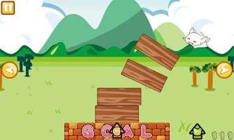 Screenshot of Landing Cat [Sweet Cat Puzzle]