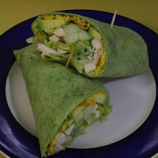 Cucumber Avocado Wrap Recipes