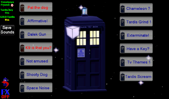 Screenshot of Tardis Sounds