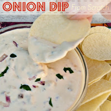 Onion Dip (From Scratch)