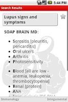 Screenshot of Medical Mnemonics