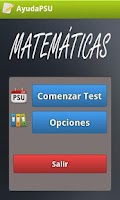 Screenshot of Ayuda PSU Matemáticas