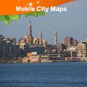 Alexandria (Egypt) Street Map icon