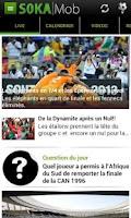 Screenshot of S0KAMob - Football Afrique