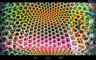 Screenshot of Crazy Trippy Live Wallpaper ★
