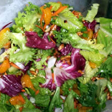 Tossed Romaine and Orange Salad