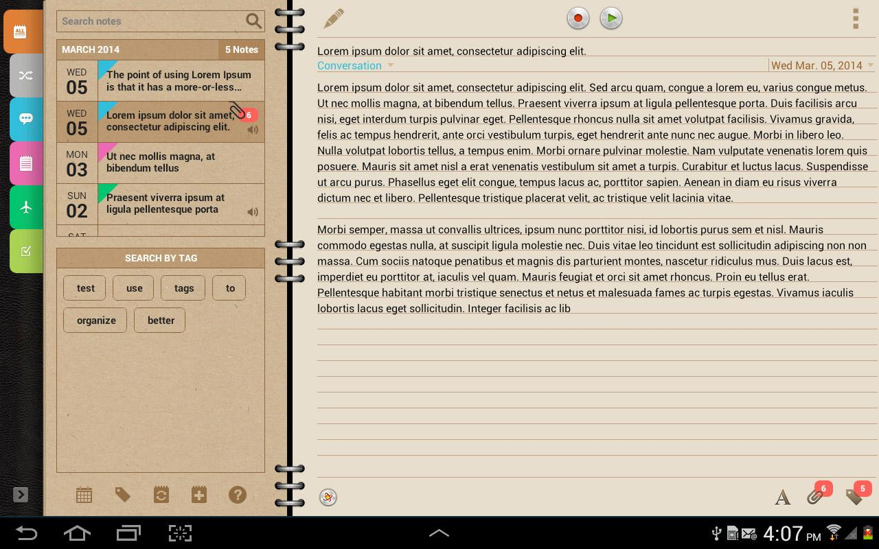 Groovy Notes - Personal Diary Screenshot 8