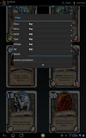 Screenshot of Hearth DB Hearthstone Database