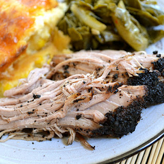 Coffee Rubbed Pork Roast