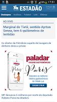 Screenshot of Estadão Mobile