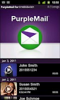 Screenshot of PurpleMail