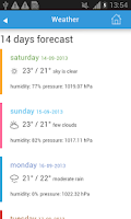 Screenshot of Bangkok Guide, Hotels, Weather