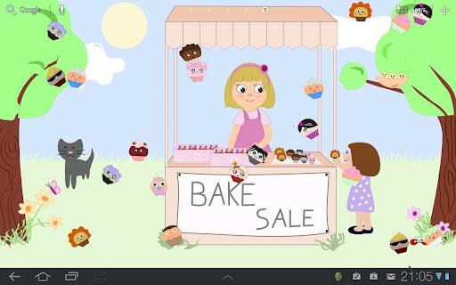 Cupcake Live Wallpaper