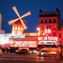 Moulin Rouge, Paris by Sajal Gupta - Buildings & Architecture Other Exteriors (  )