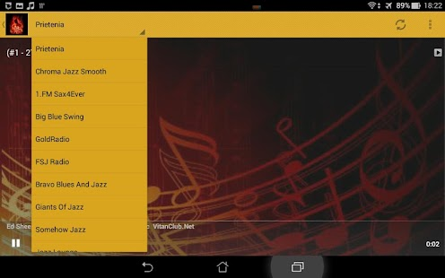Jazz Music Radio Stations - screenshot