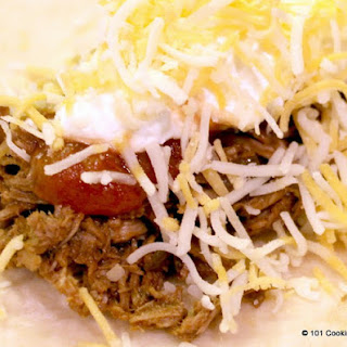 Crock Pot Mexican Shredded Beef