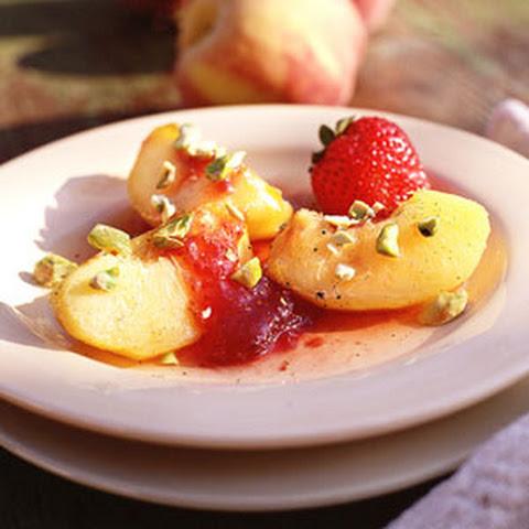 Bourbon-Poached Peaches Recipes — Dishmaps