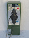 Single Slot Payphones - SNET 10 cent Green loc B-2