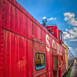 SOO Caboose by Ron Meyers - Transportation Trains