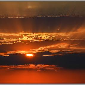 Solar reflections by Kati Raileanu - Landscapes Sunsets & Sunrises