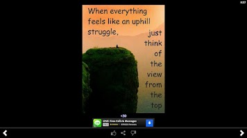 Screenshot of Inspirational Quotes Free