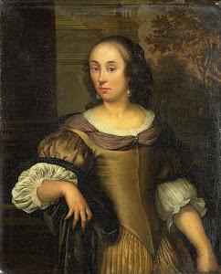 RIJKS: Eglon van der Neer: painting 1670