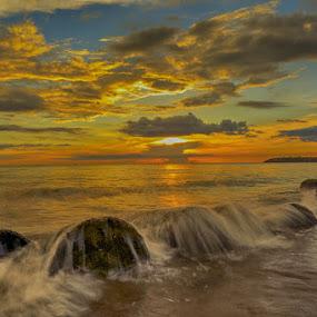 golden H by Arnold James - Landscapes Sunsets & Sunrises