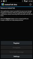 Screenshot of AndroidTalk