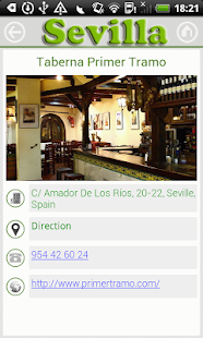 Sevilla Guide - screenshot