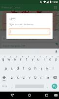 Screenshot of Fretebras Checkin