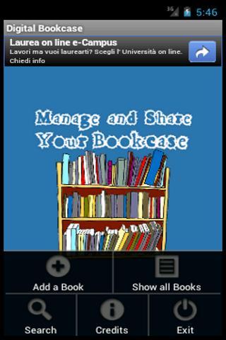 Digital Bookcase