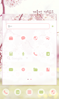 Screenshot of Delight dodol launcher theme
