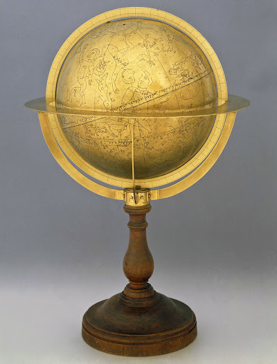 The oldest arab celestial globe in the world, made in 1085