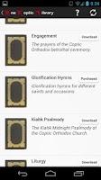 Screenshot of One Coptic Library مكتبة قبطية