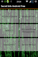 Screenshot of Secret Info Android Free