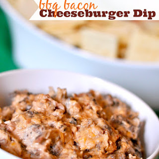BBQ Bacon Cheeseburger Dip