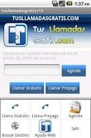 Screenshot of tusllamadasgratis for 1.x