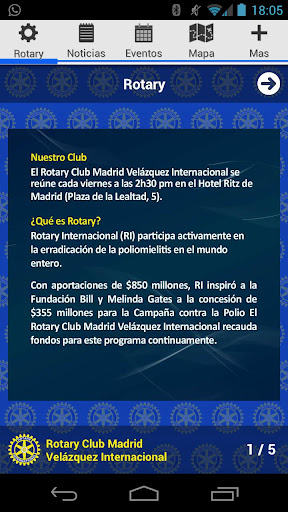 Rotary Madrid Velázquez Int.