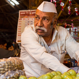 vegetable man by Sohil Laad - People Portraits of Men ( outdoor, candid, people, street photography )